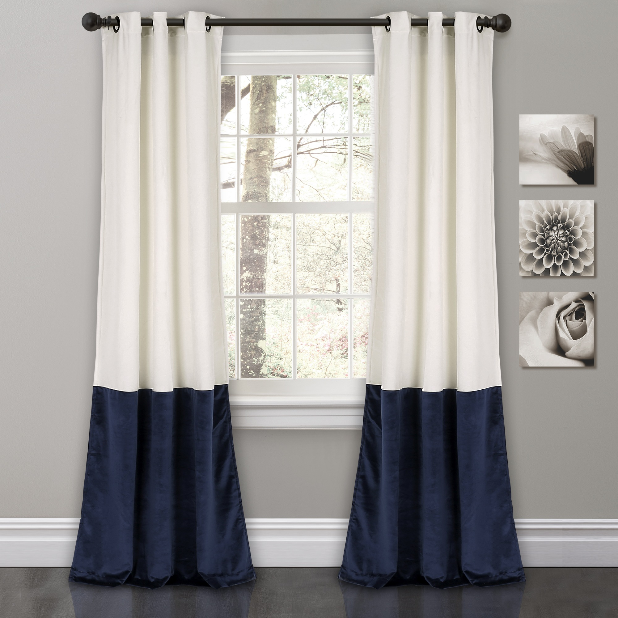 Velvet Room Darkening Window Curtain Set (View 20 of 30)