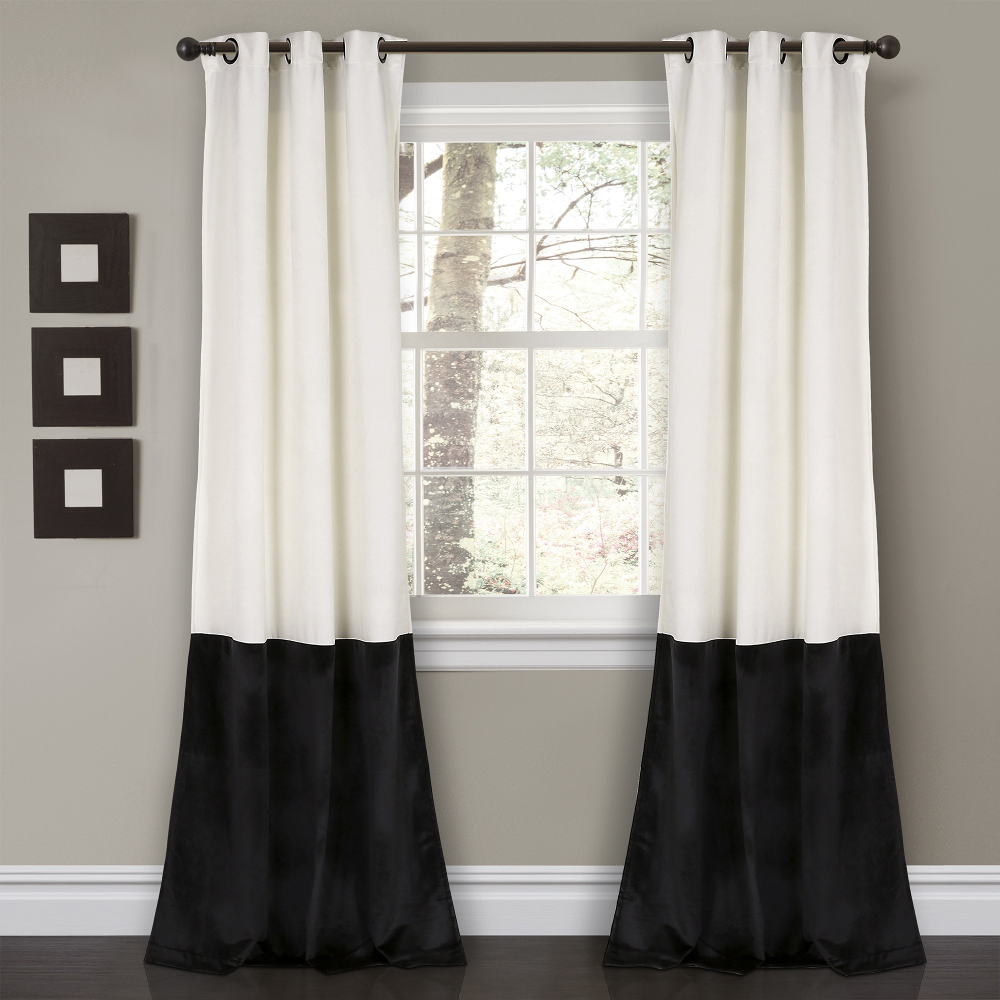 Velvet Room Darkening Window Curtain Set (View 15 of 30)