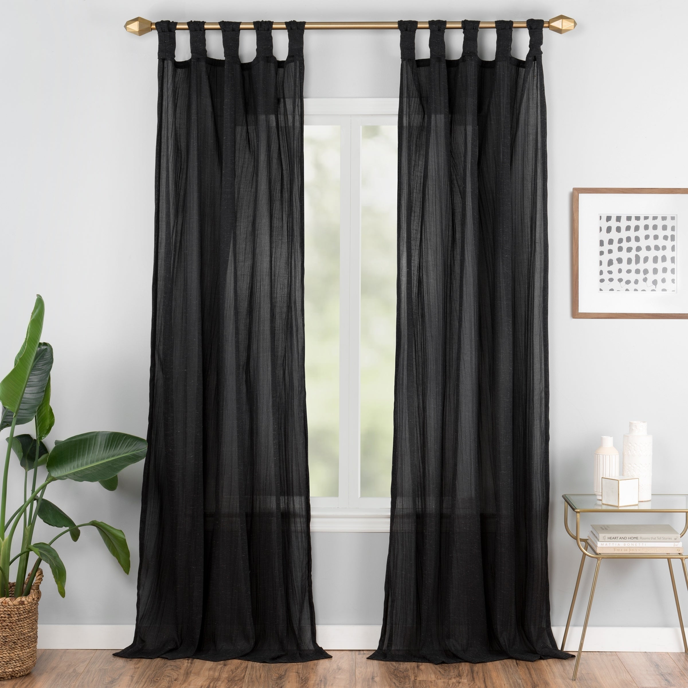 Featured Photo of Vue Elements Priya Tab Top Window Curtains