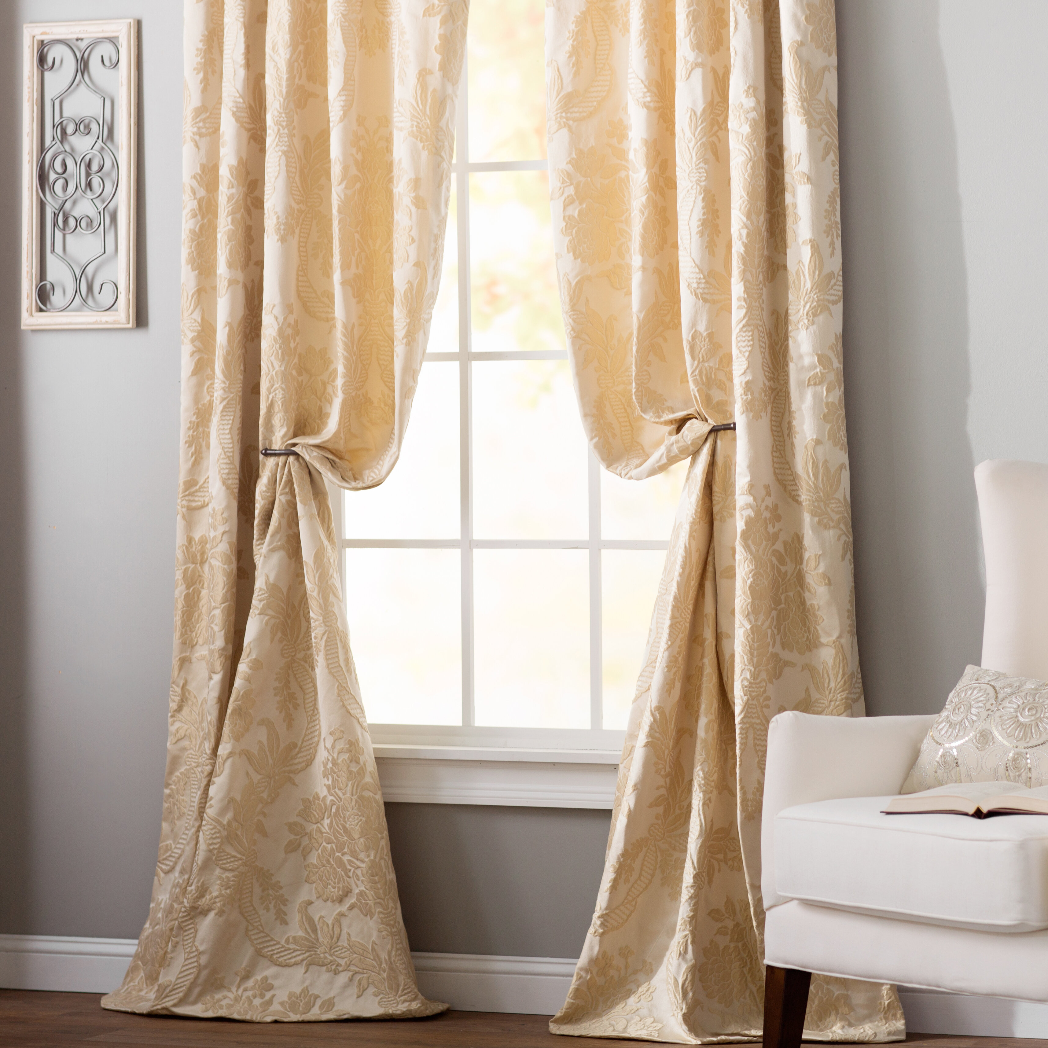 Wayfair – Online Home Store For Furniture, Decor Pertaining To Luxury Collection Faux Leather Blackout Single Curtain Panels (View 6 of 20)