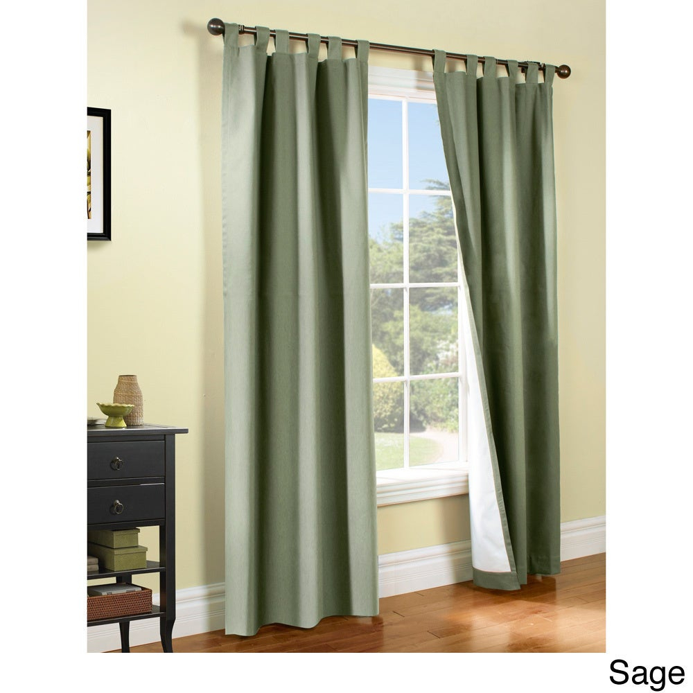 Weathermate Insulated Cotton Curtain Panel Pair For Insulated Cotton Curtain Panel Pairs (View 6 of 20)