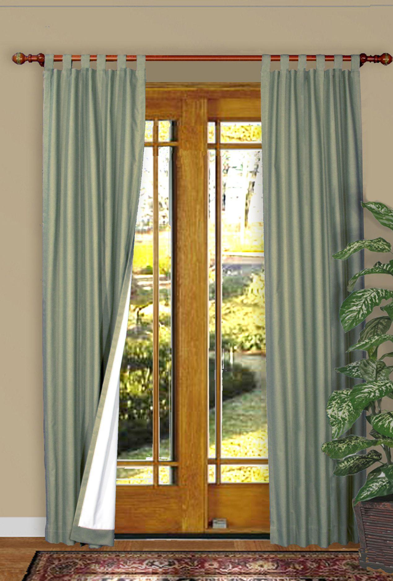 Weathermate Insulated Tab Top Curtains, Thermal Curtains Pertaining To Insulated Cotton Curtain Panel Pairs (View 19 of 20)