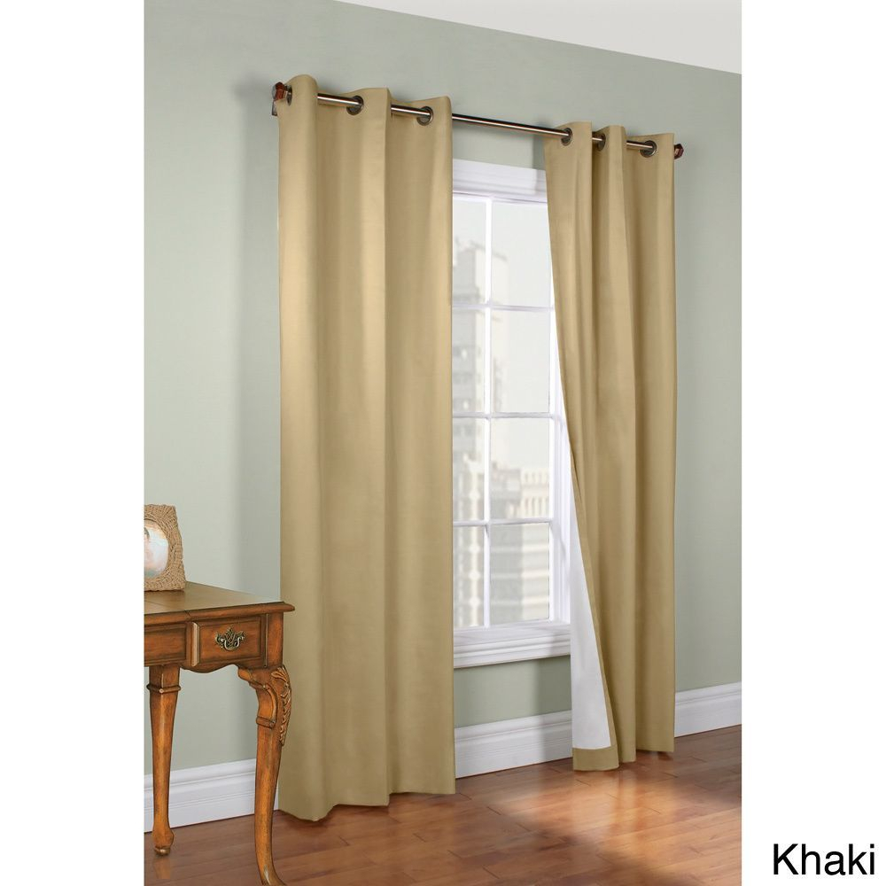 Weathermate Thermalogic Insulated 54 Inch Curtain Panel With Insulated Cotton Curtain Panel Pairs (View 7 of 20)
