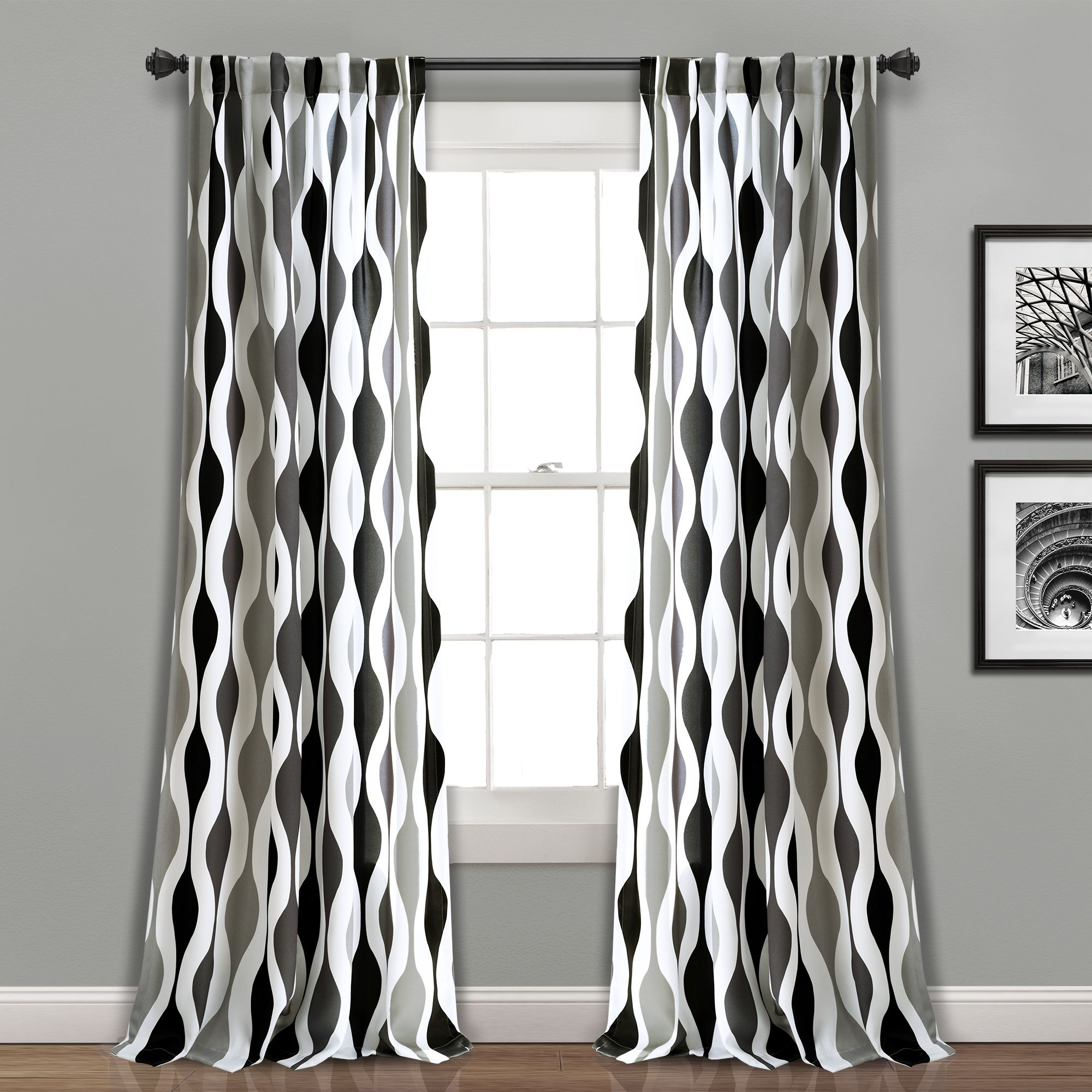 What's The Difference Between Room Darkening And Blackout Regarding Kaiden Geometric Room Darkening Window Curtains (View 9 of 20)