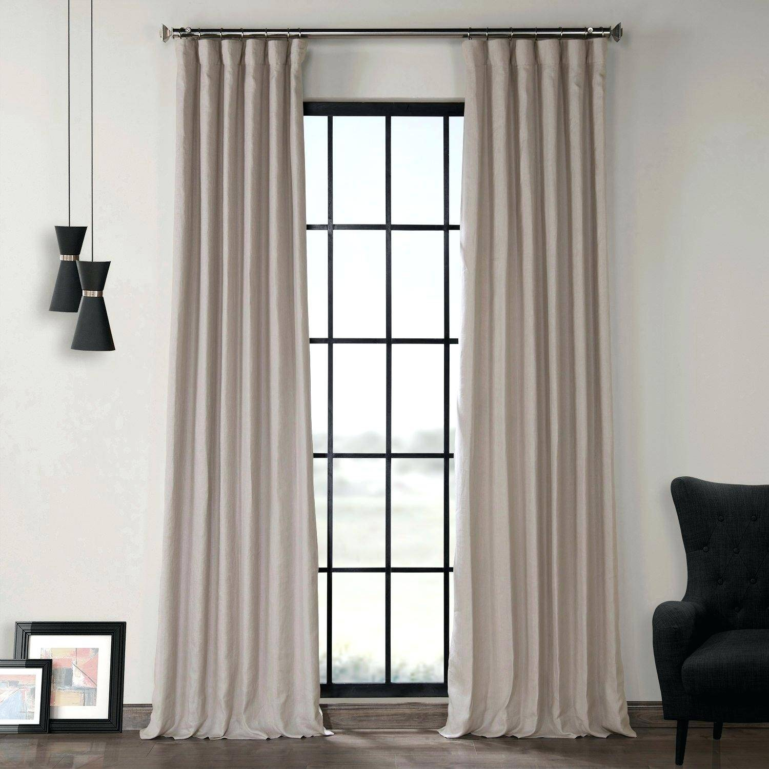 Window Length Curtains Sill Short Long Floor Half Full In Ultimate Blackout Short Length Grommet Curtain Panels (View 17 of 30)