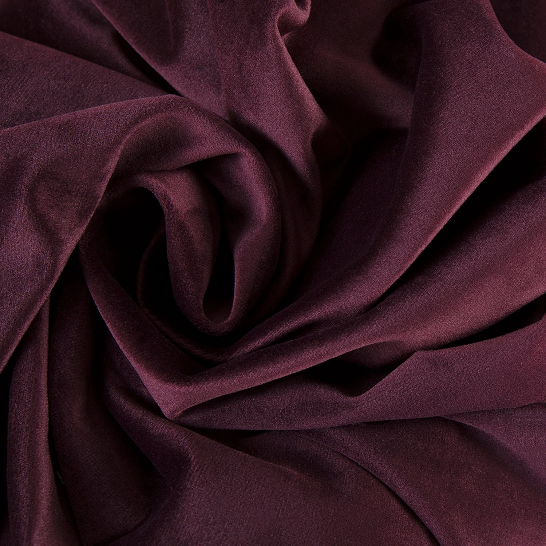 Winter Plum Heritage Plush Velvet Fabric With Heritage Plush Velvet Curtains (View 11 of 20)