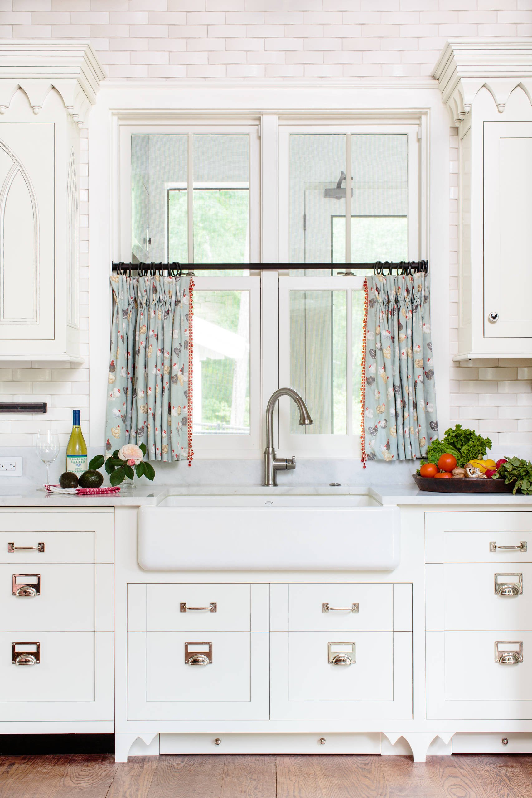 10 Best Patterns For Kitchen Curtains Cheap Farmhouse Sink Ikea Intended For Farmhouse Kitchen Curtains (Gallery 11 of 20)