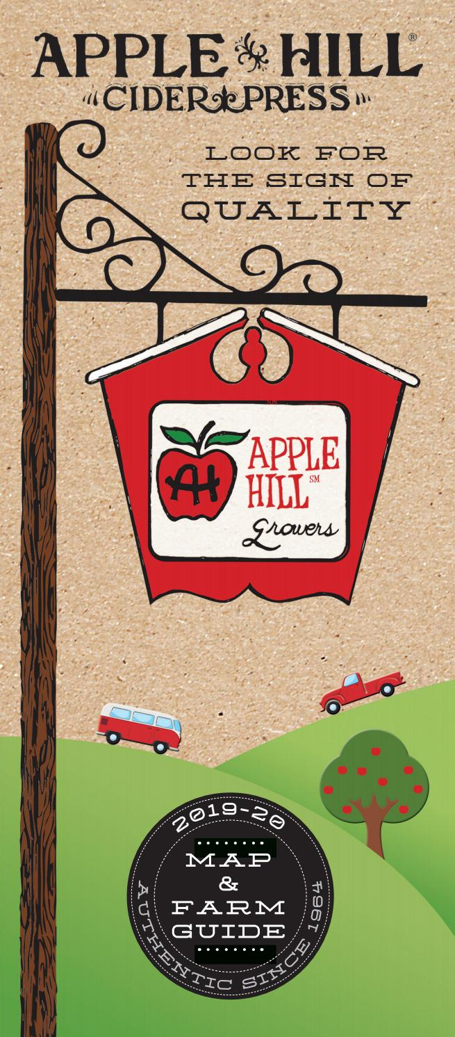 2019 Apple Hill Cider Pressapple Hill® Growers With Apple Orchard Printed Kitchen Tier Sets (View 7 of 20)