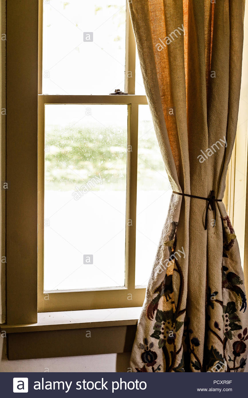 American Crime Drama Stock Photos & American Crime Drama Pertaining To Grandin Curtain Valances In Black (View 20 of 20)