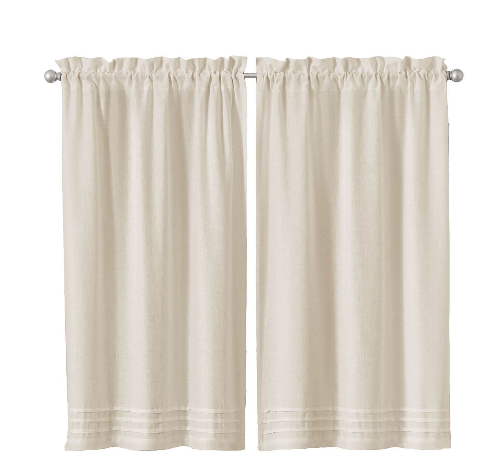 Aon Window Pleated Cafe Curtain Inside Luxury Collection Kitchen Tiers (View 11 of 20)