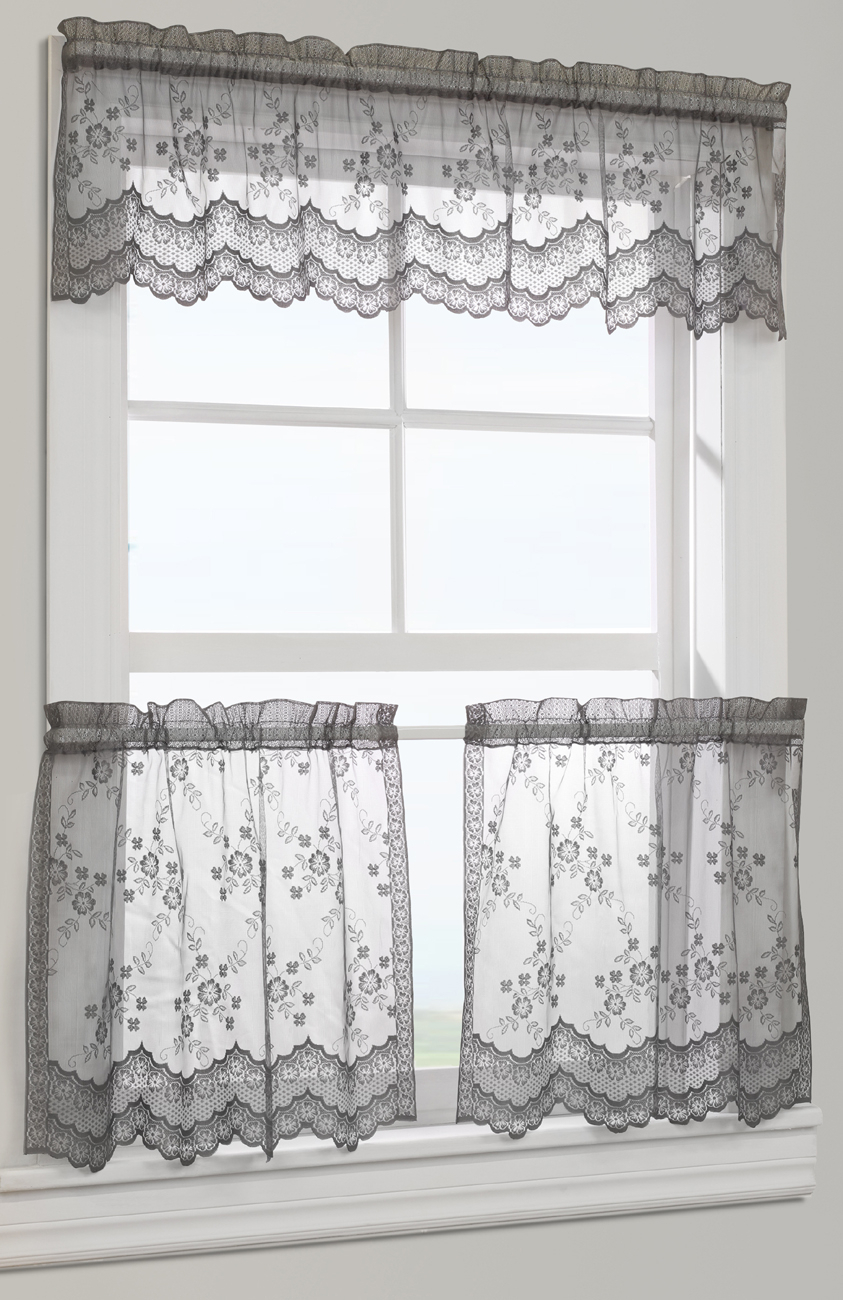 Best Ever Black And White Tier Curtains – Freshomedaily With Classic Black And White Curtain Tiers (View 6 of 20)