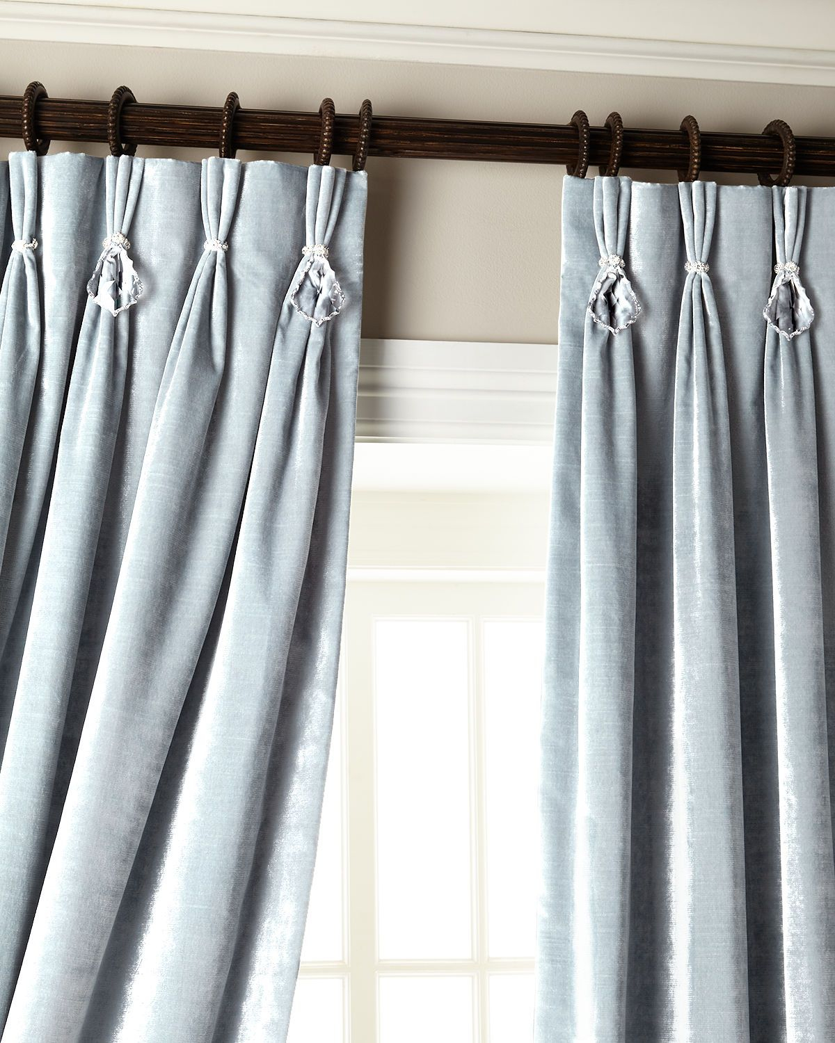 Burrigan Curtain Tier, Valance And Swag Set In 2019 | Room Throughout Cotton Classic Toast Window Pane Pattern And Crotchet Trim Tiers (View 3 of 20)