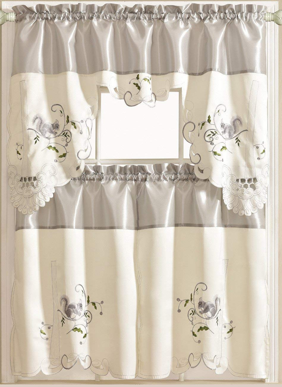 Cheap Kitchen Curtain Pictures, Find Kitchen Curtain With Regard To Spring Daisy Tiered Curtain 3 Piece Sets (View 4 of 20)