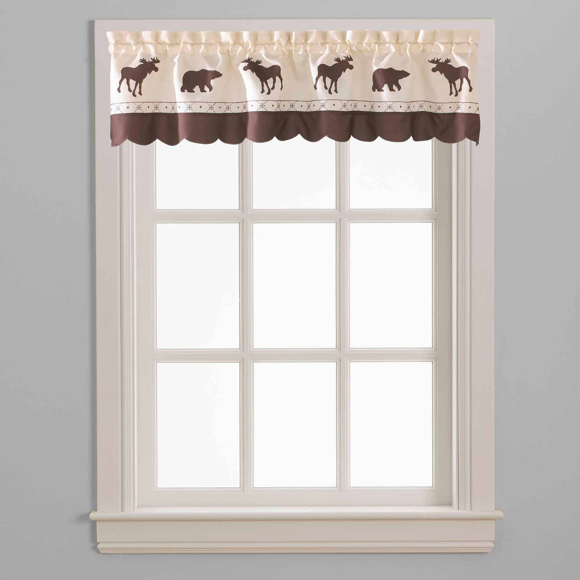 Chf & You Forest Curtain Panel, Set Of 2 – Walmart Within Forest Valance And Tier Pair Curtains (View 5 of 20)