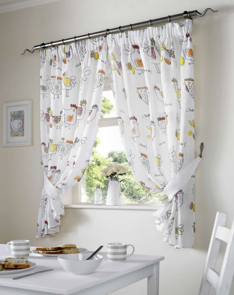 Chicken Kitchen Curtains – Boatsafty (View 17 of 20)