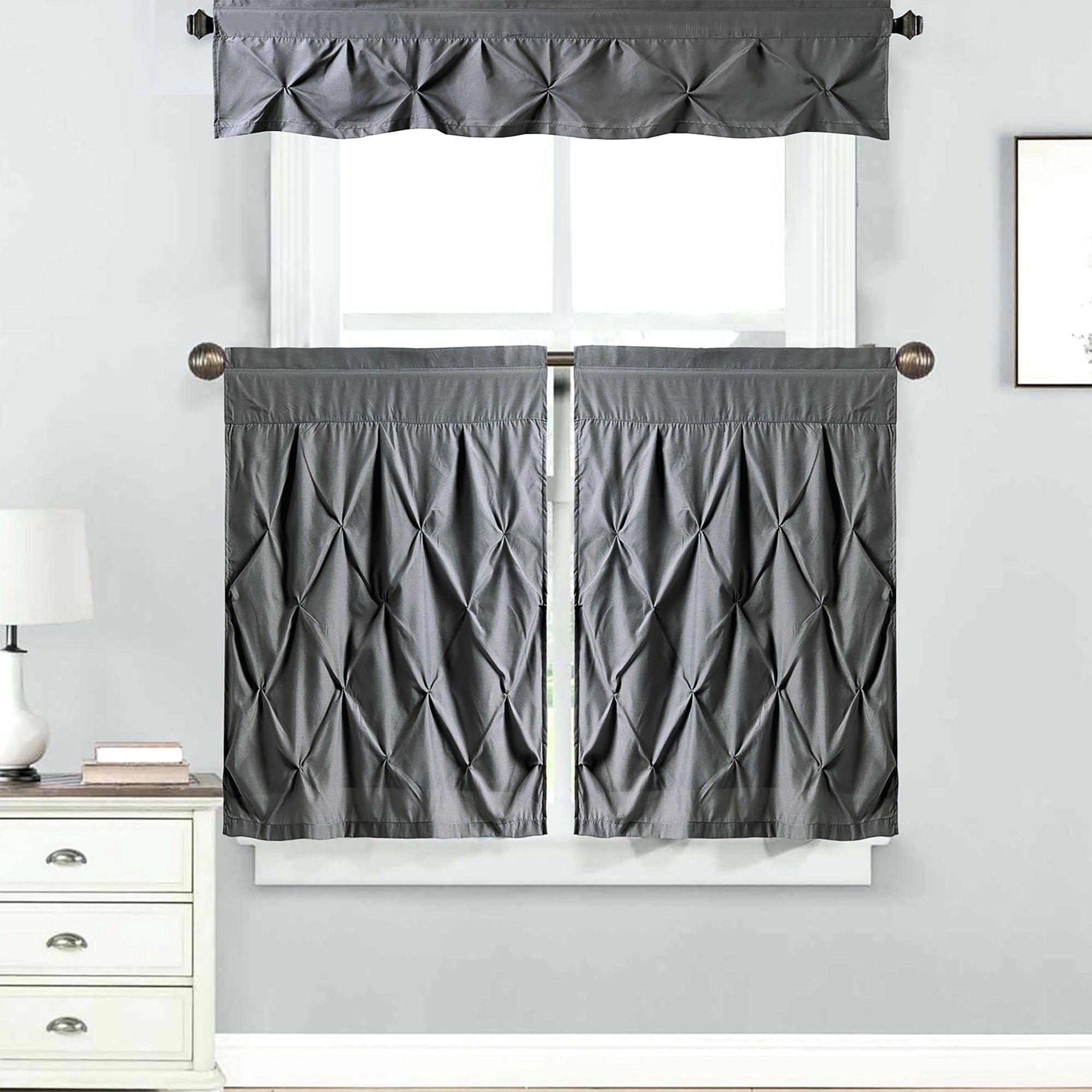 Curtain Sets With Valance – Mnkskin Throughout Chocolate 5 Piece Curtain Tier And Swag Sets (View 11 of 20)