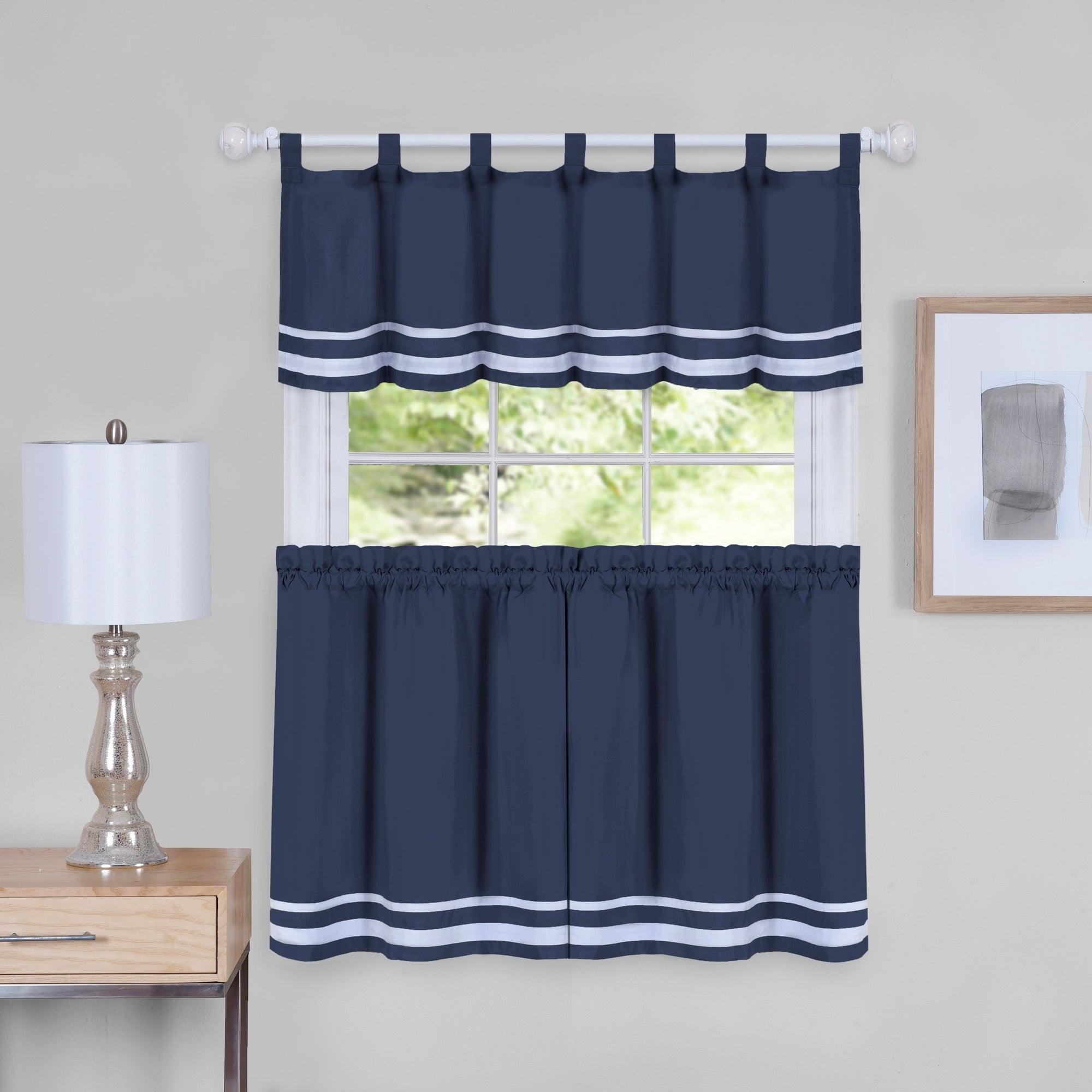Featured Photo of Dakota Window Curtain Tier Pair And Valance Sets