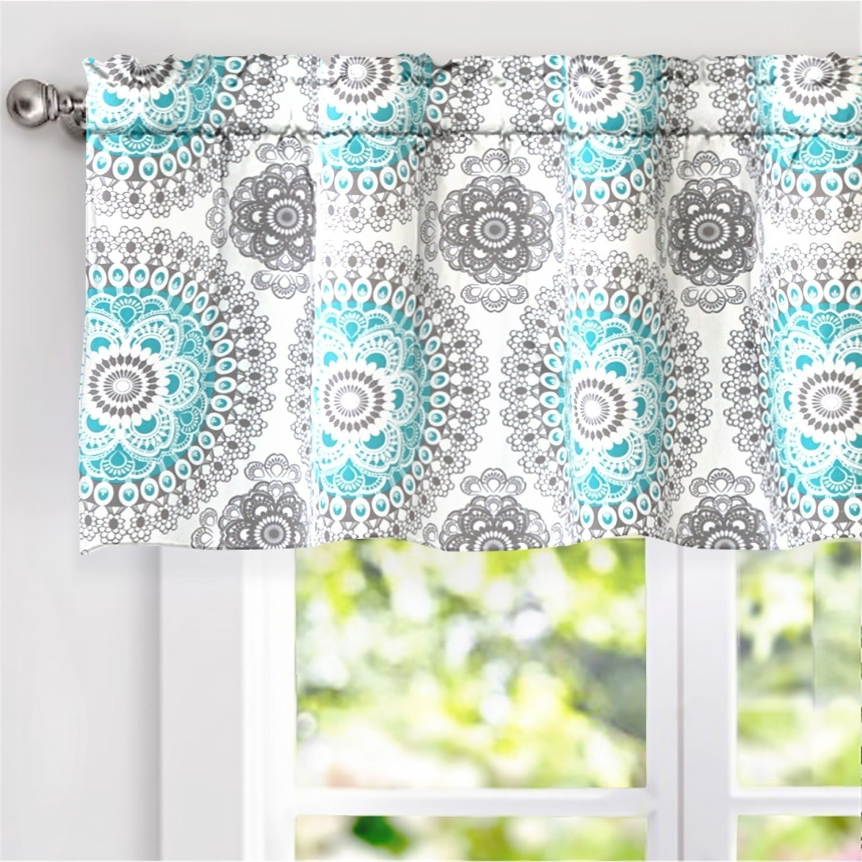 Featured Photo of Medallion Window Curtain Valances