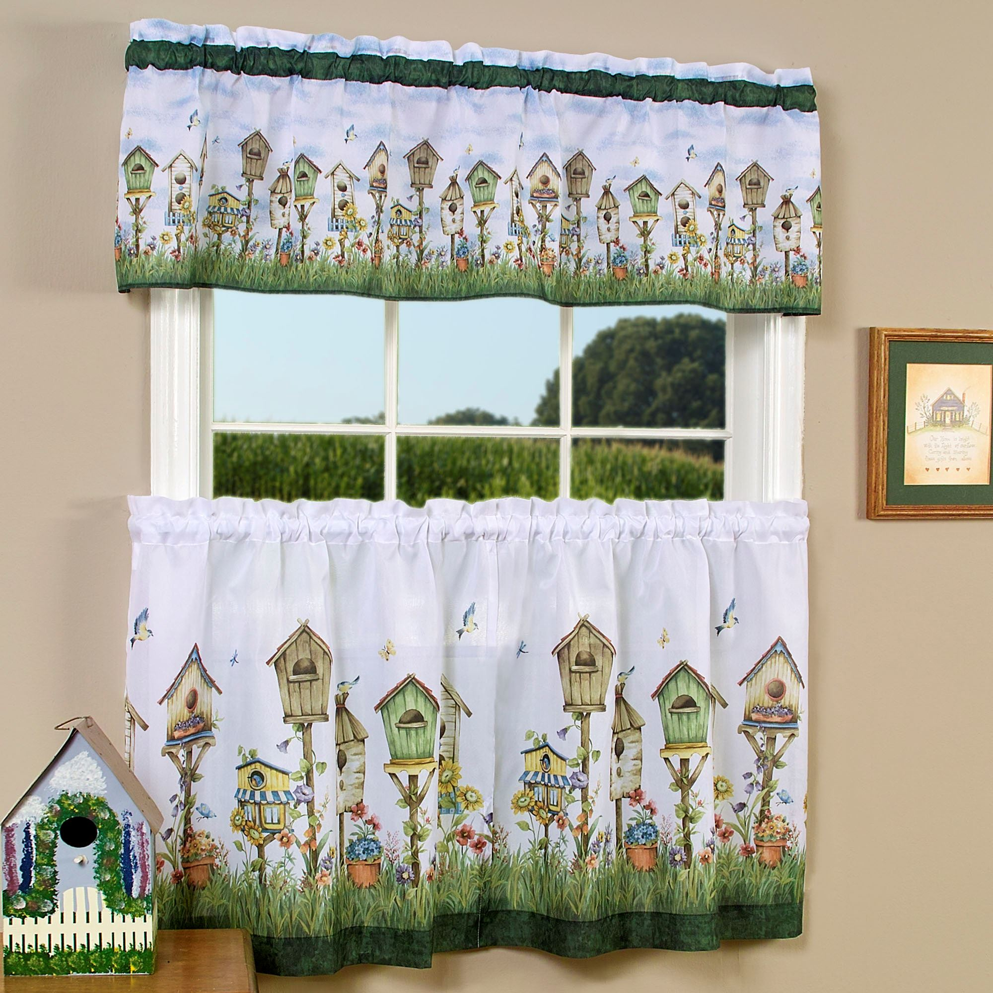 Engaging Country Curtains Kitchen Living Images Jcpenney In Grey Window Curtain Tier And Valance Sets (View 12 of 20)