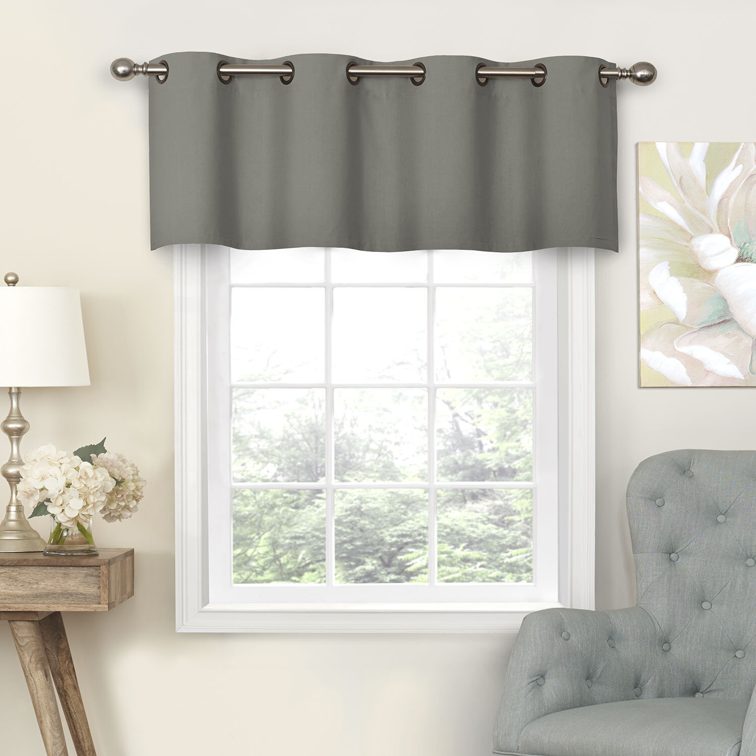 Ghent Blackout Grommet Curtain Valance Within Luxury Light Filtering Straight Curtain Valances (View 20 of 20)