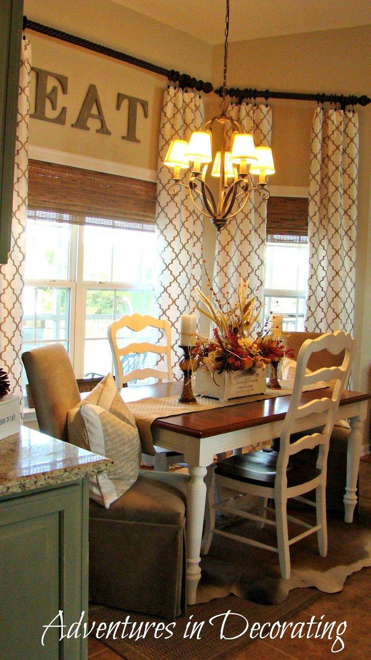 Gorgeous Home Decor Kitchen Curtains Decorating With Regard To Primitive Kitchen Curtains (Gallery 19 of 20)