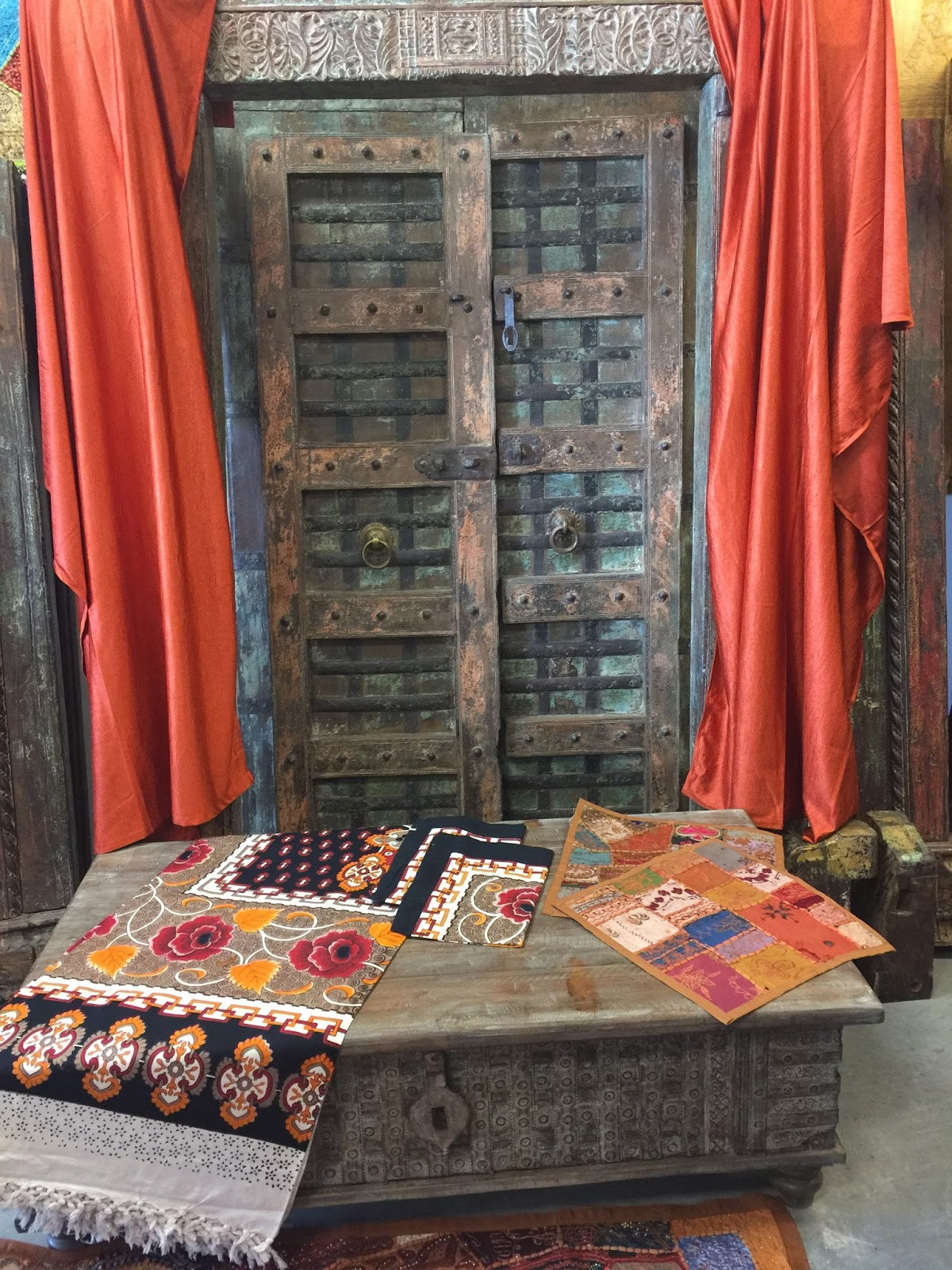 Home Decor: Instadecor Exotic Moroccan Curtains For Oakwood Linen Style Decorative Curtain Tier Sets (View 18 of 20)