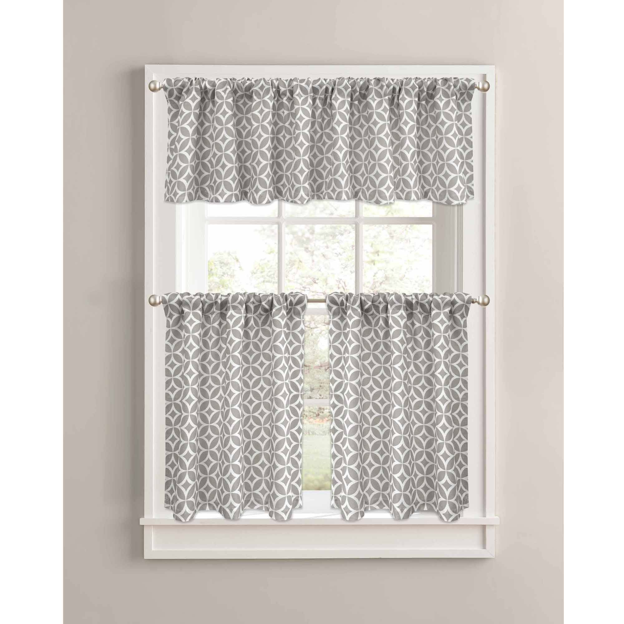 Home In 2019 | Better Homes, Gardens, Home, Garden, Better Homes For Cotton Blend Grey Kitchen Curtain Tiers (View 11 of 20)