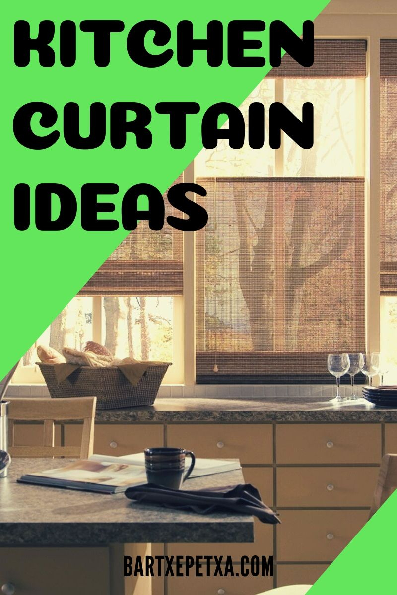 Kitchen Curtain Ideas (Kitchen Curtain Design And Pattern) Pertaining To Rod Pocket Cotton Linen Blend Solid Color Flax Kitchen Curtains (Photo 18 of 20)