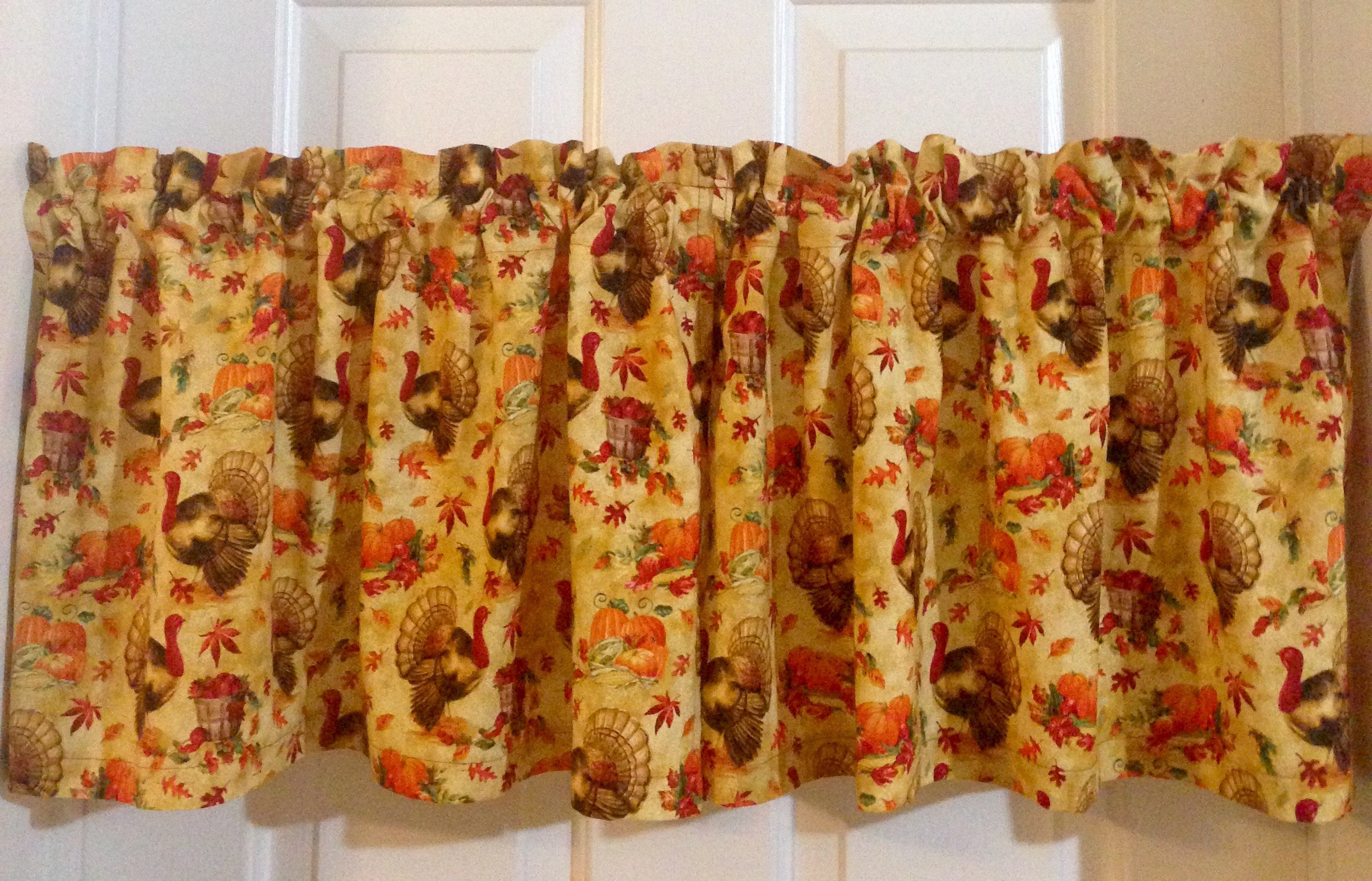 Kitchen Curtains, Kitchen Decor, Home Decor, Country Kitchen Curtains, Cafe Curtains, Three Piece Tier Set Curtains, Country Curtains, Intended For Spring Daisy Tiered Curtain 3 Piece Sets (View 12 of 20)