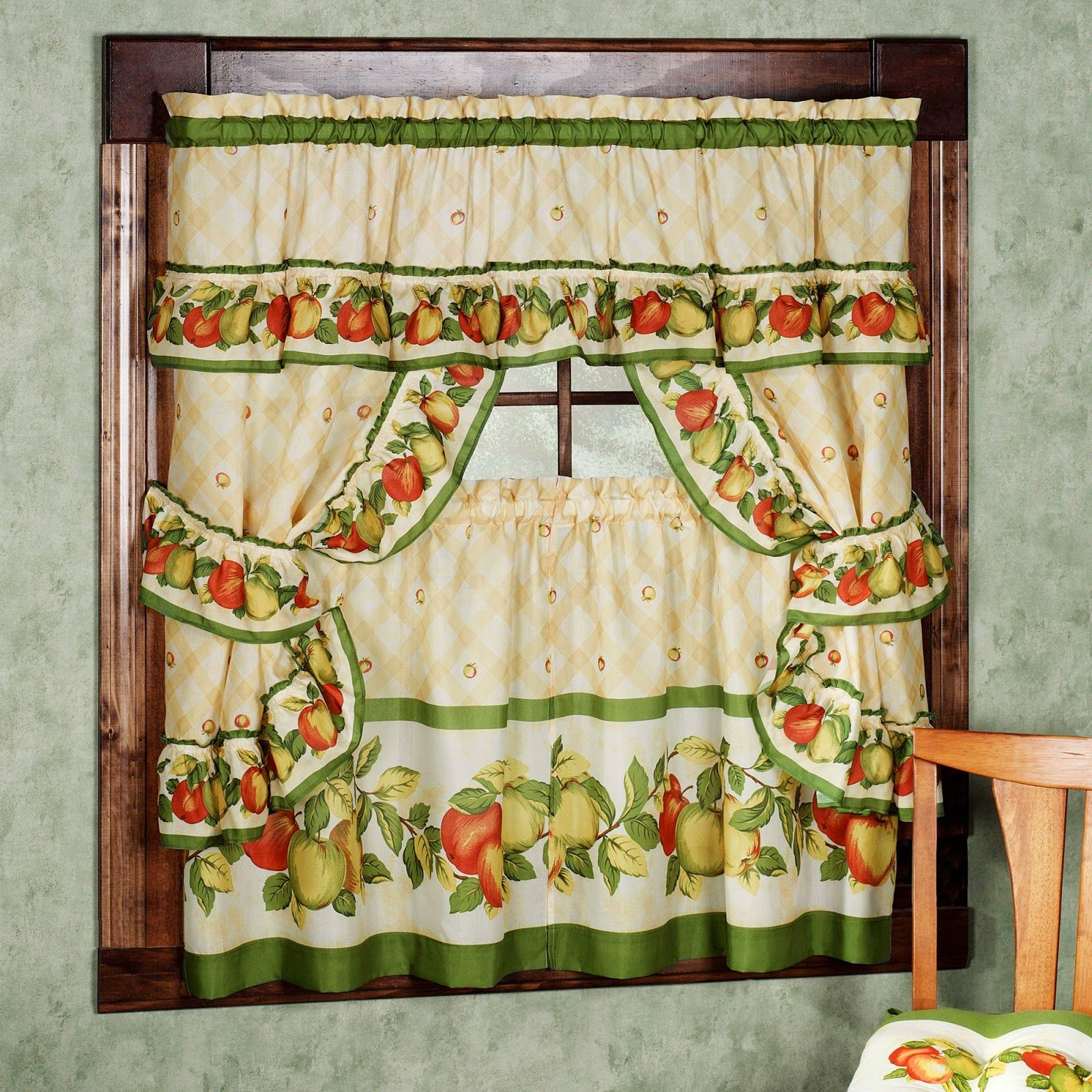 Kitchen Curtains Vintage (View 4 of 20)