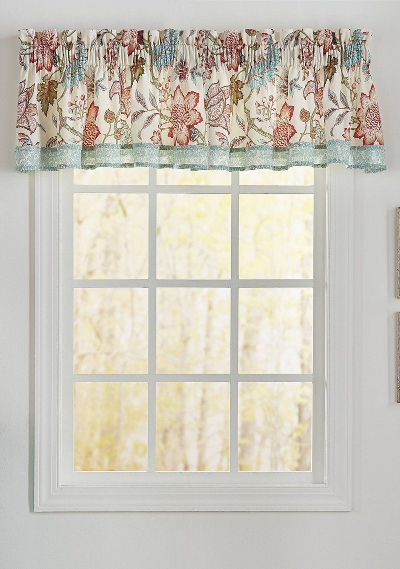Kitchen Lovely Waverly Kitchen Curtains For Beautiful Throughout Waverly Felicite Curtain Tiers (Photo 13 of 20)