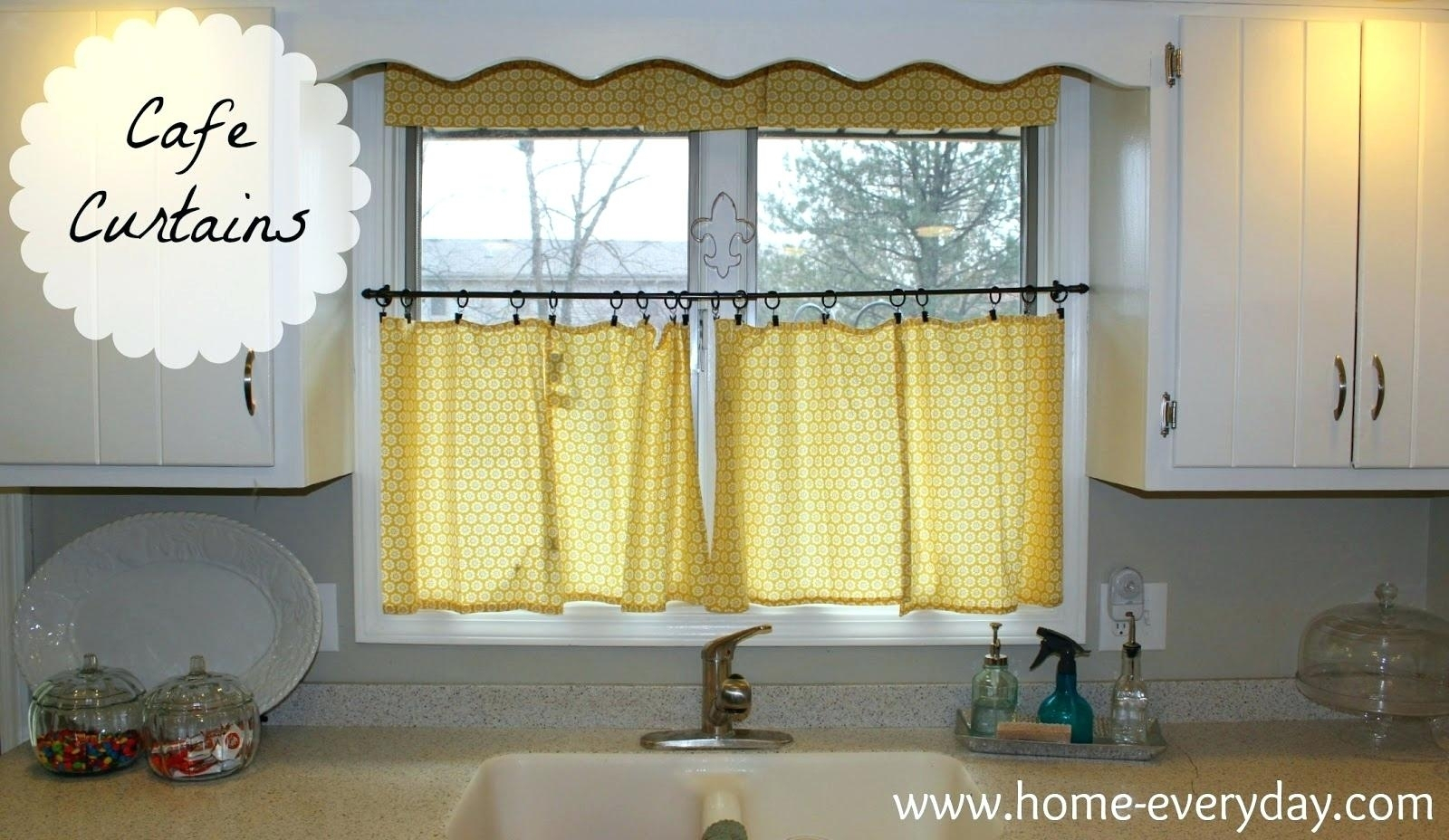 Kitchen Tier Curtains Cafe Curtains Target Kitchen Tier With Kitchen Window Tier Sets (Gallery 4 of 20)