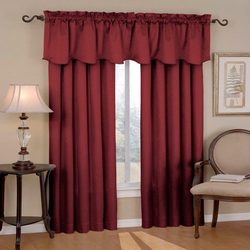 Kitchen Valance Curtains – Bedbathandbeyondpillows.gq Pertaining To Geometric Print Microfiber 3 Piece Kitchen Curtain Valance And Tiers Sets (Photo 18 of 20)