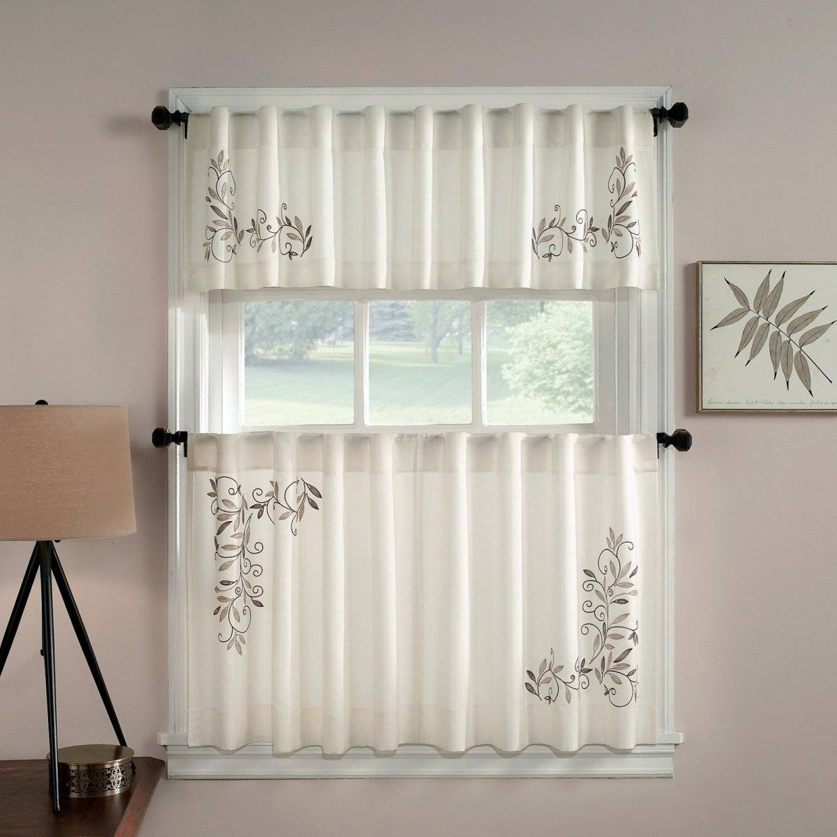 Kitchen Window Valances Target Country Bay Drapes Doors With Regard To Kitchen Window Tier Sets (Gallery 6 of 20)