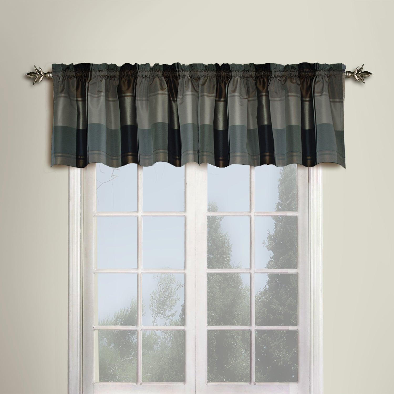 Featured Photo of Luxury Light Filtering Straight Curtain Valances