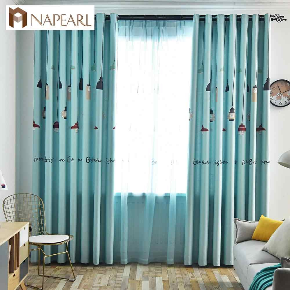 Napearl Colorful Striped Line Bedroom Cloth Curtains With Regard To Ivory Micro Striped Semi Sheer Window Curtain Pieces (View 17 of 20)