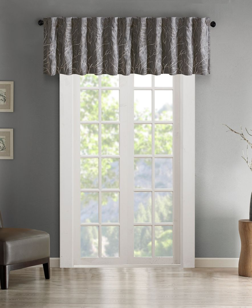 Pin On Products Throughout Tree Branch Valance And Tiers Sets (View 7 of 20)