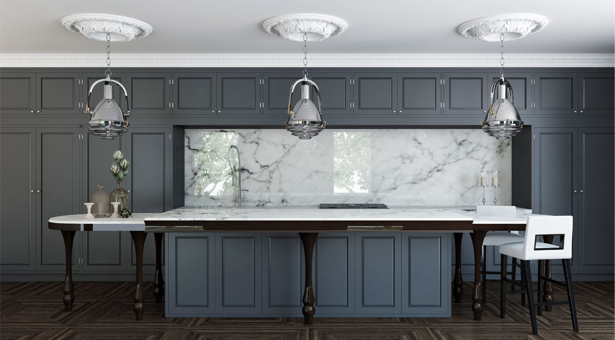 Popular Kitchen Styles – Inviting Home Pertaining To Cumberland Tier Pairs In Dove Gray (View 9 of 20)
