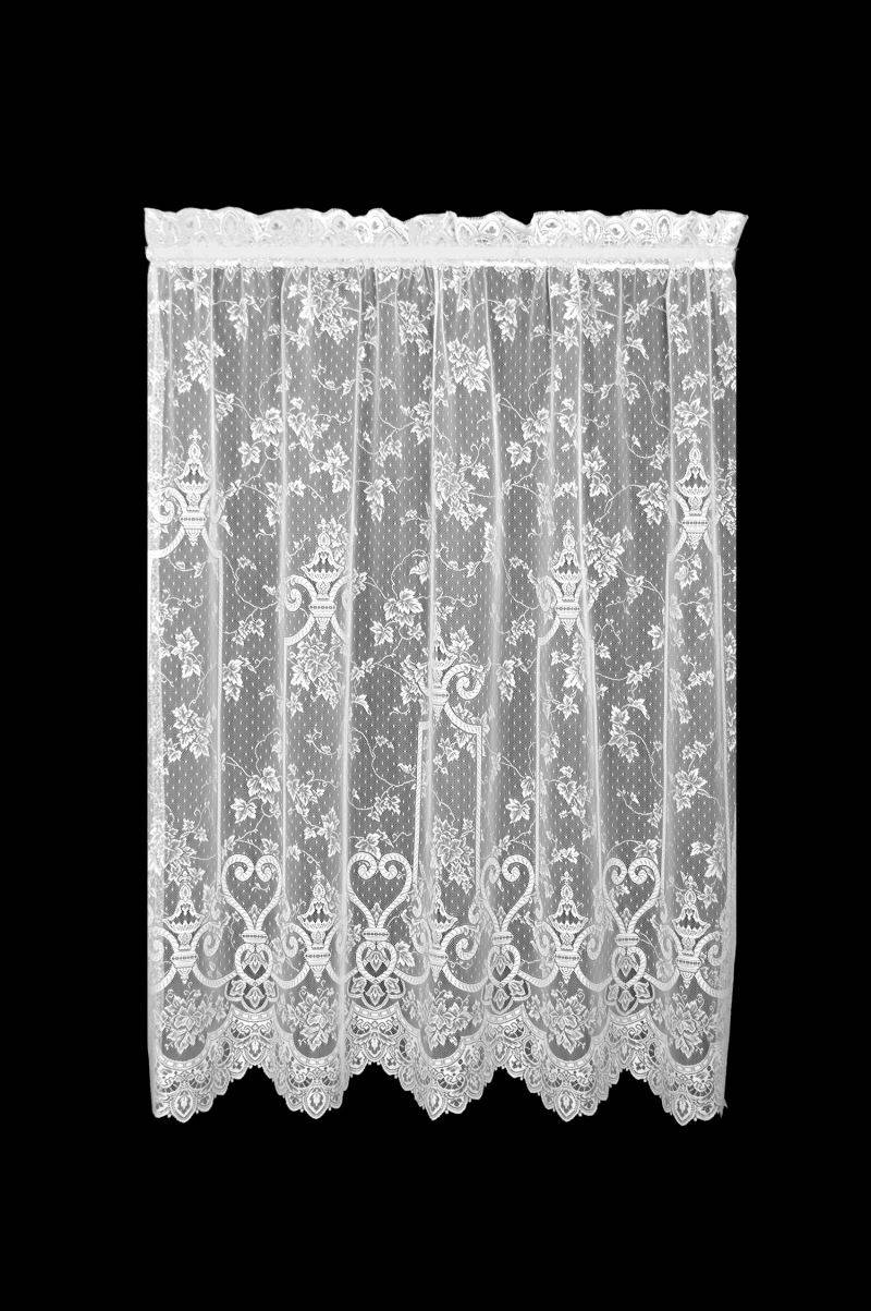 Pretty Country Lace Curtains Swags For Living Room Catalog Throughout Cottage Ivy Curtain Tiers (View 18 of 20)