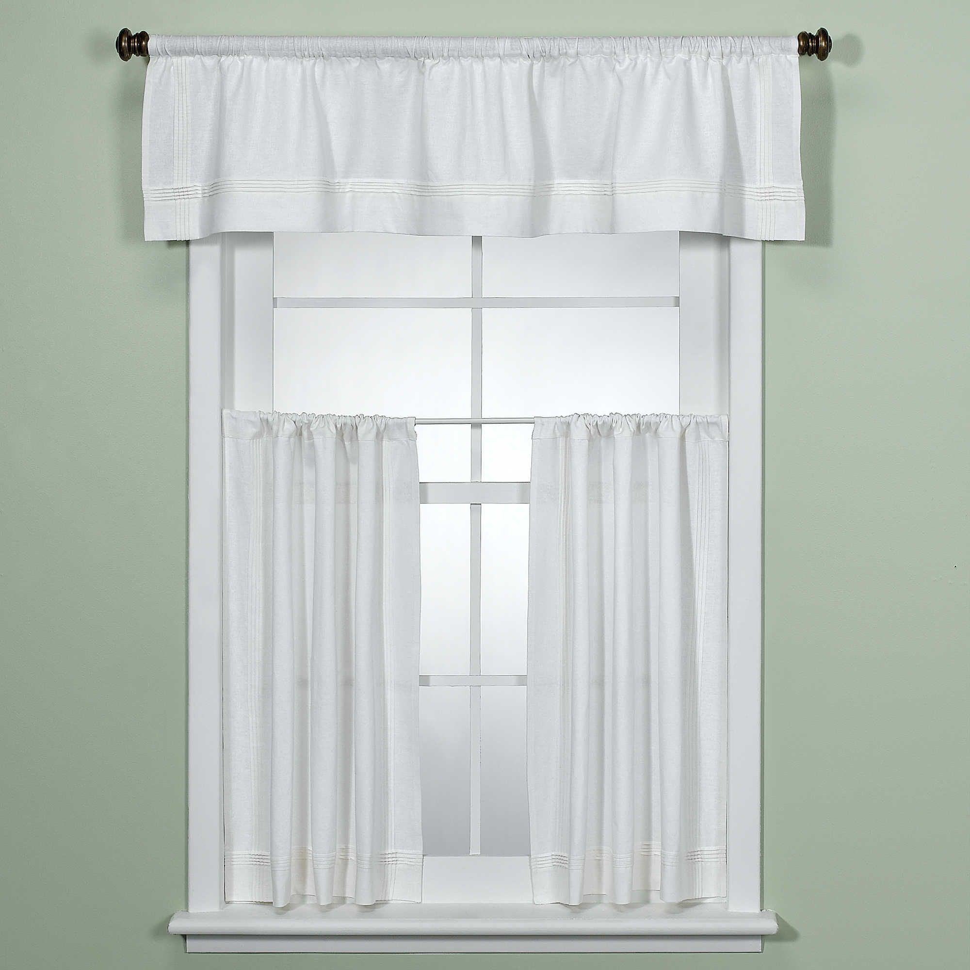 Product Image For Madison Park Gemma Sheer Window Curtain Regarding Ivory Micro Striped Semi Sheer Window Curtain Pieces (View 18 of 20)
