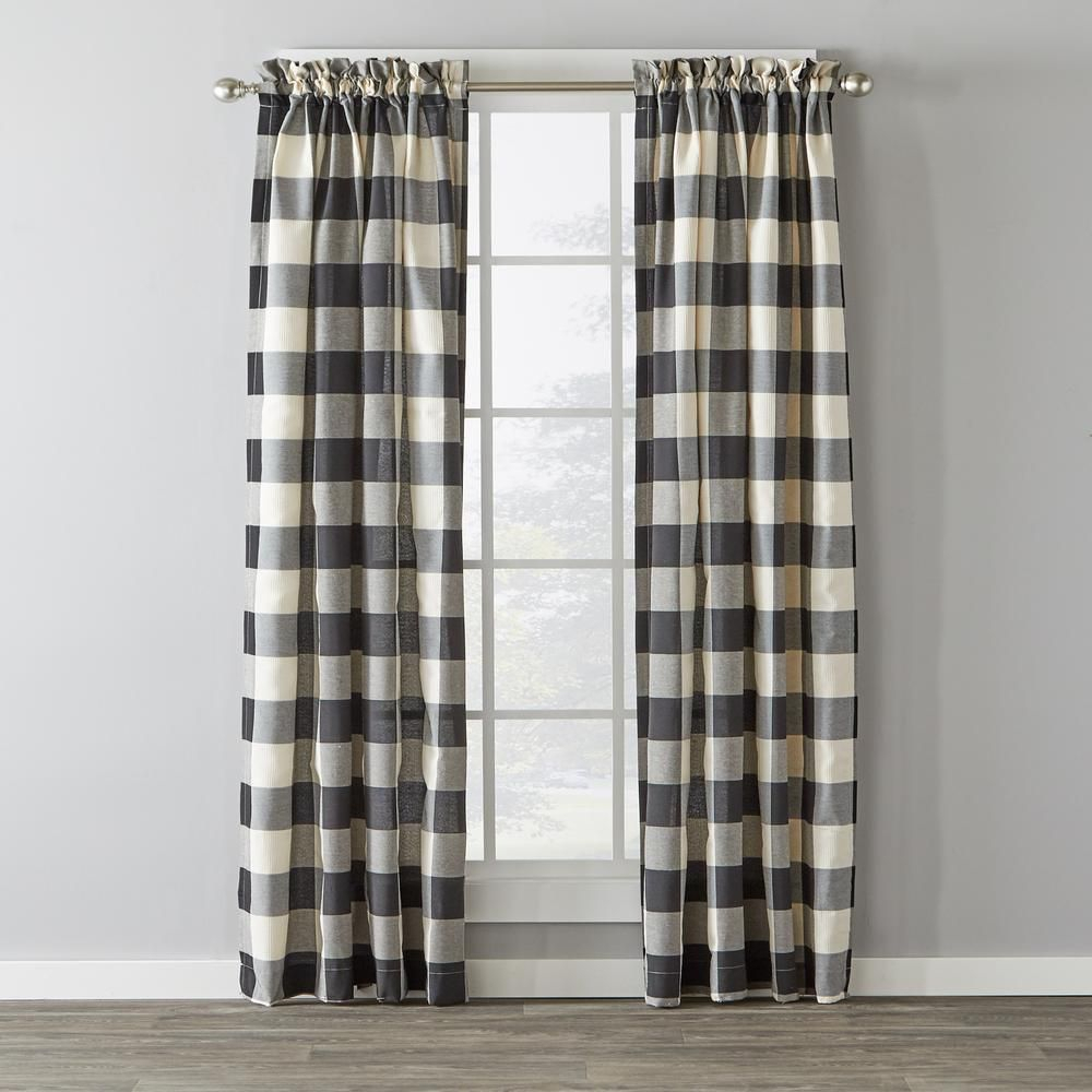 Featured Photo of Grandin Curtain Valances In Black