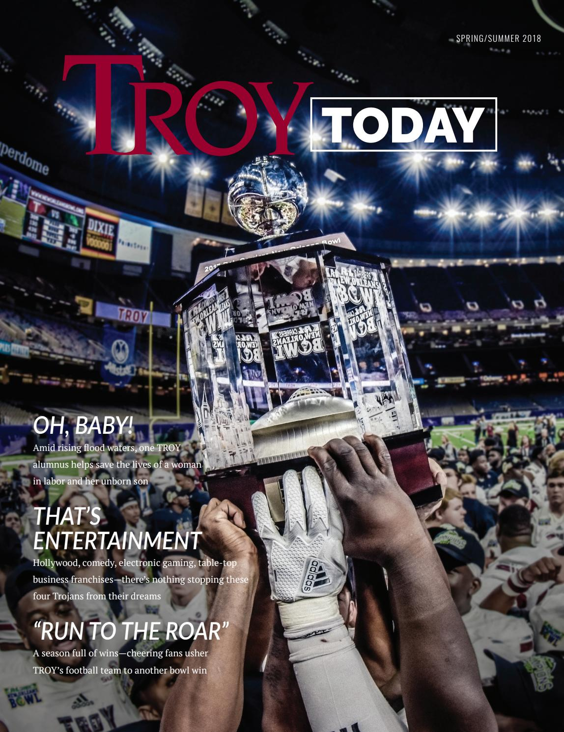 Spring/summer Troy Today Magazinetroy University – Issuu For Cumberland Tier Pairs In Dove Gray (View 19 of 20)