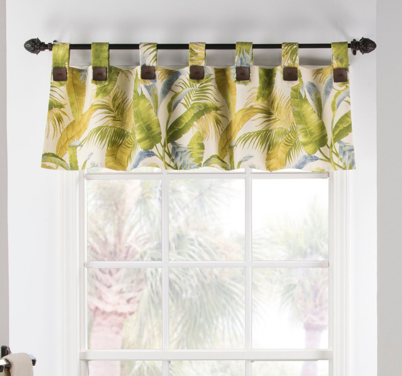 Straight Valances: Solid, Patterned, Ruffled With Regard To Luxury Light Filtering Straight Curtain Valances (View 17 of 20)