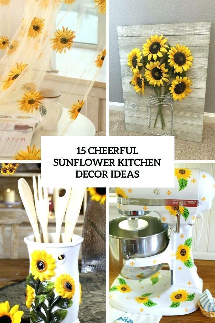 Sunflower Kitchen Curtains – Tallfloorvases (View 19 of 20)