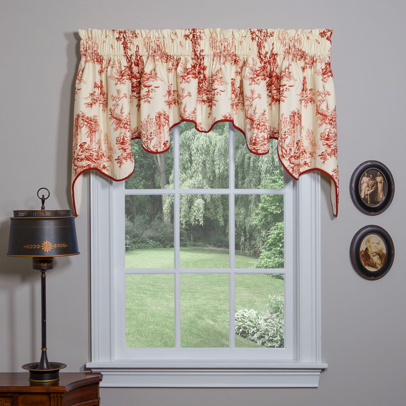 Swag Curtains: Solid, Patterned, Sheer regarding Maize Vertical Ruffled Waterfall Valance And Curtain Tiers (Image 11 of 20)
