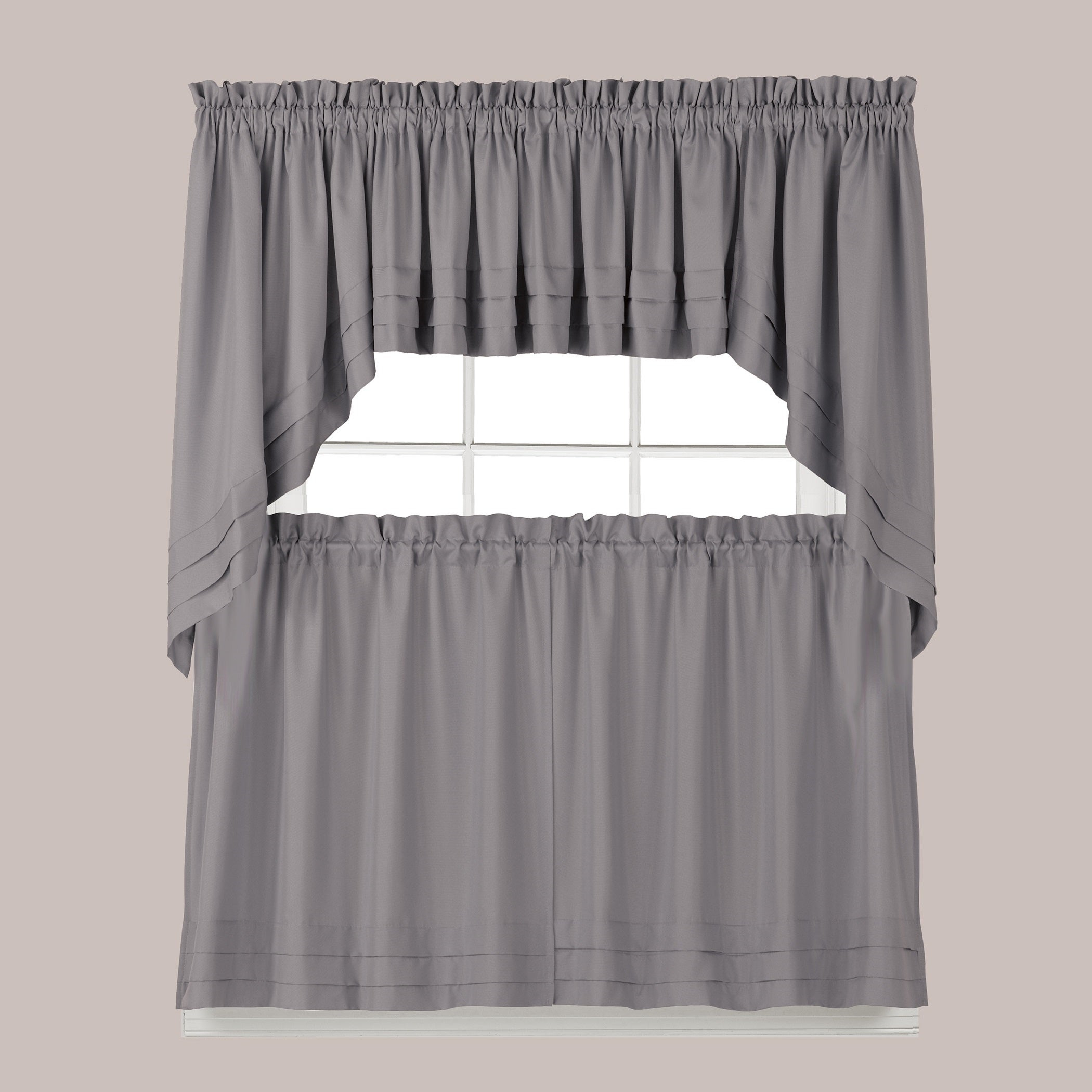 The Gray Barn Flinders Forge 45 Inch Tier Pair In Dove Grey Intended For Flinders Forge 30 Inch Tiers In Dove Grey (View 2 of 20)