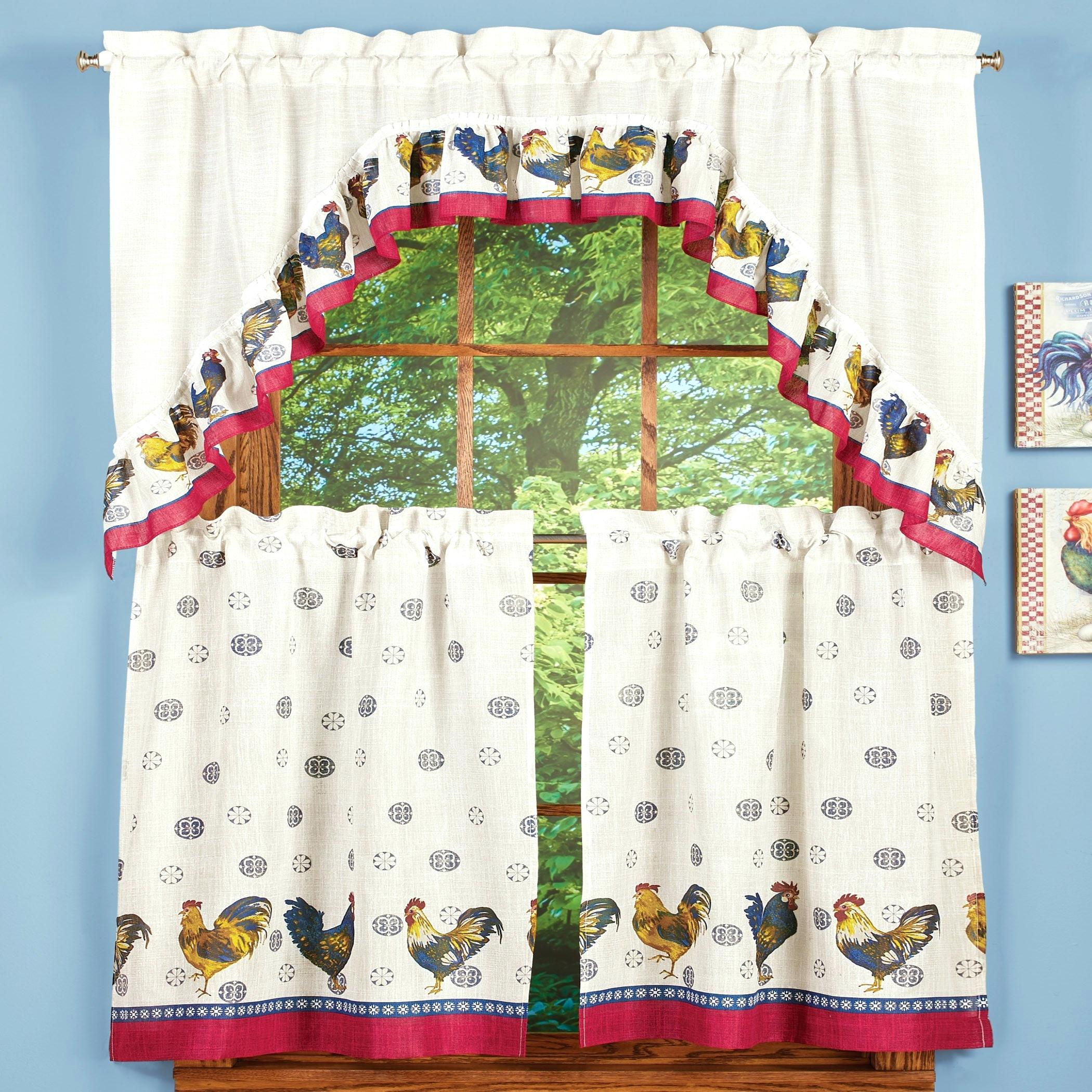 Tier Window Curtains – Sk8ergirl (View 7 of 20)