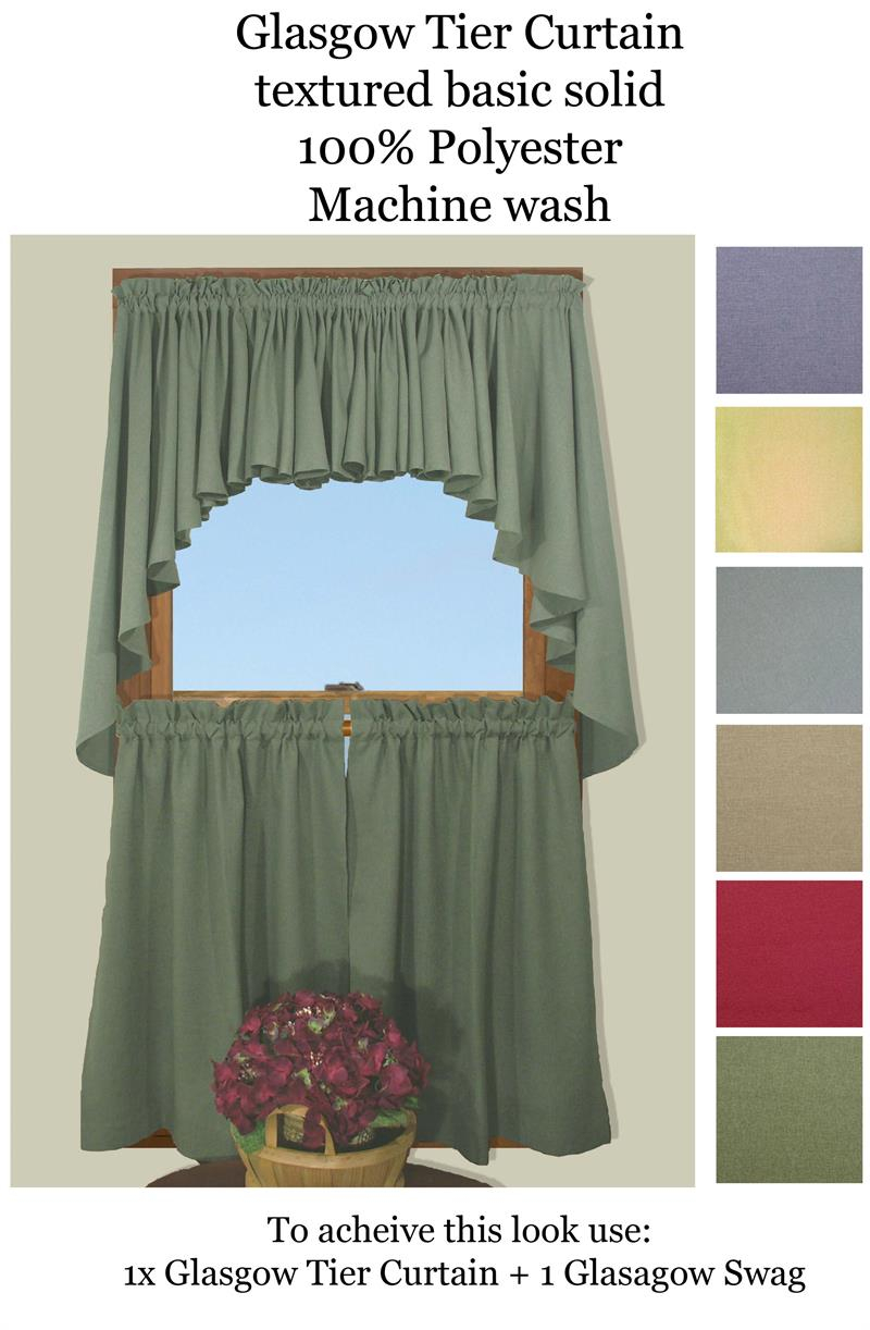 Featured Photo of Glasgow Curtain Tier Sets