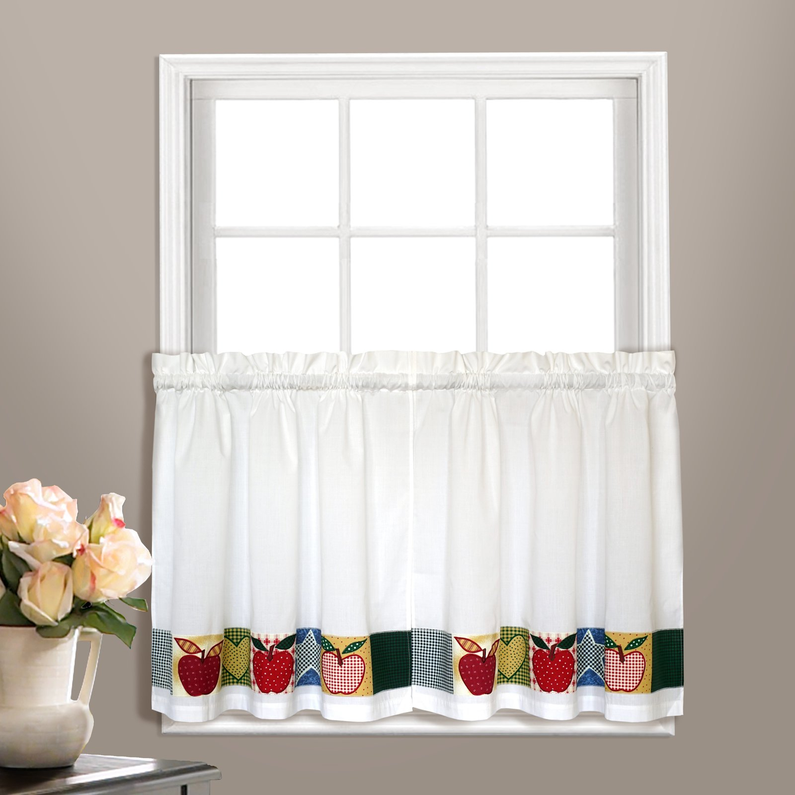 United Curtain Appleton Kitchen Tiers   Products In 2019 Inside Dakota Window Curtain Tier Pair And Valance Sets (View 20 of 20)