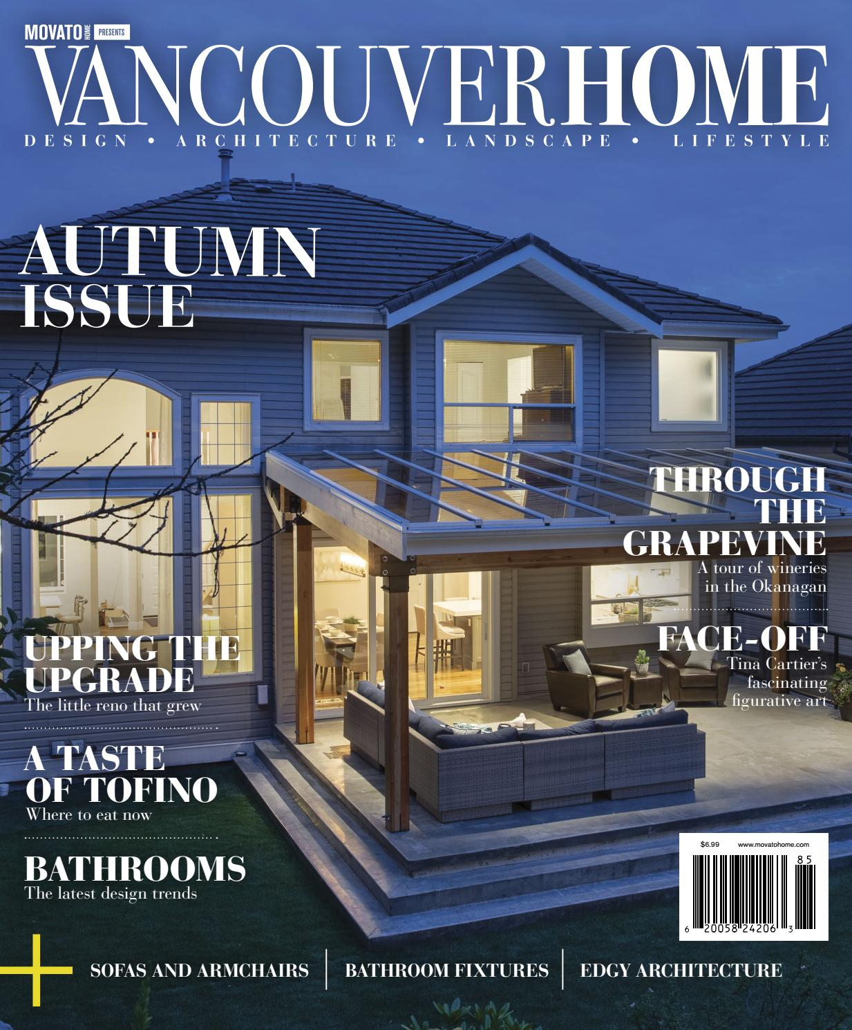 Vancouver Home – Autumn 2018Home In Canada   Design Inside Complete Cottage Curtain Sets With An Antique And Aubergine Grapvine Print (View 19 of 20)